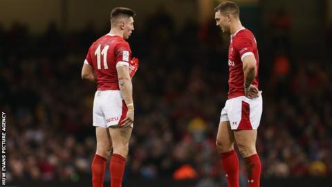 Josh Adams and George North have scored 54 Wales tries between them