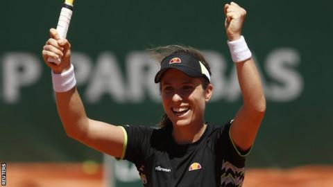 French Open 2019: Johanna Konta breezes into Roland Garros last four