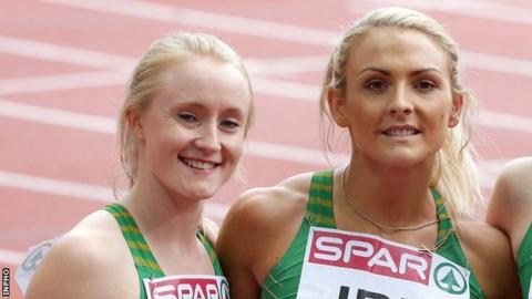 Amy Foster and Kelly Proper