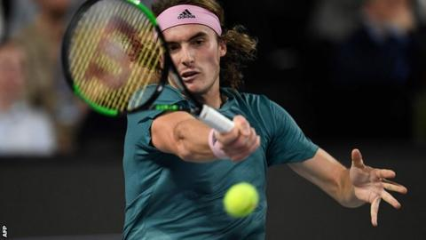 Stefanos Tsitsipas tops David Goffin to set Kukushkin clash — ATP Marseille
