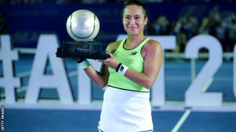Heather Watson clinches Mexican Open title with victory over Leylah Fernandez