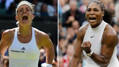 Wimbledon 2016: Serena Williams v Angelique Kerber