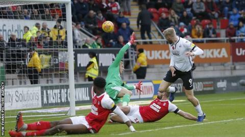 Oli McBurnie's goal