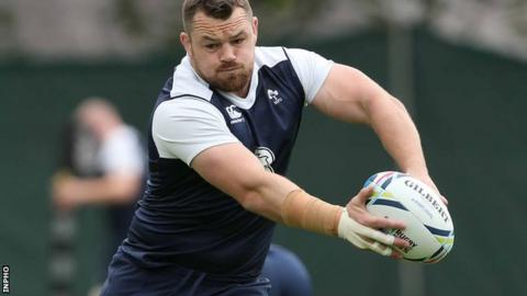 Cian Healy has recovered from neck surgery