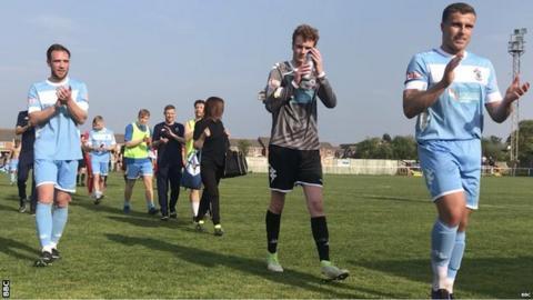 Colwyn Bay players