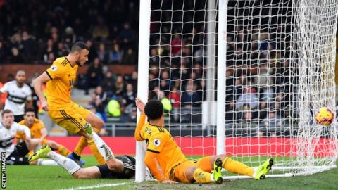 Saiss scores at Fulham