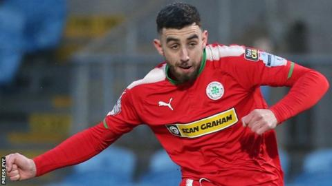 Joe Gormley gave Cliftonville hope with his early spot-kick
