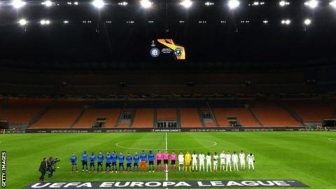 Inter Milan's Europa League tie against Ludogorets