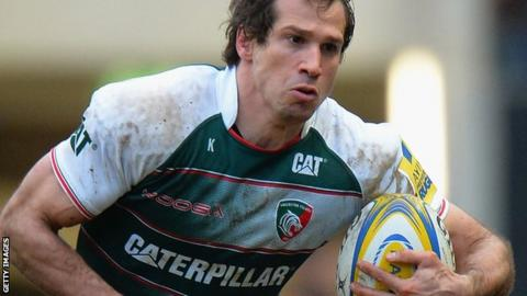 Gonzalo Camacho in action for Leicester Tigers