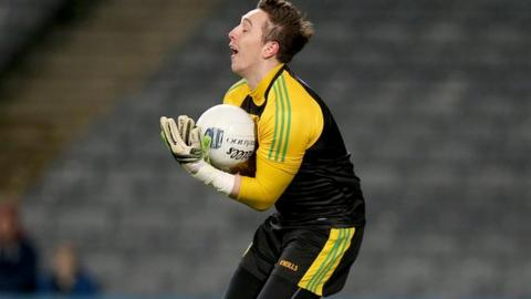 Marc Anthony McGinley is the player trusted by Donegal manager Rory Gallagher to replace the experienced Paul Durcan