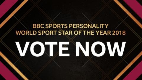 Vote for your World Sport Star of the Year 2018