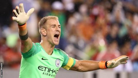 Manchester City goalkeeper Hart signs for Burnley