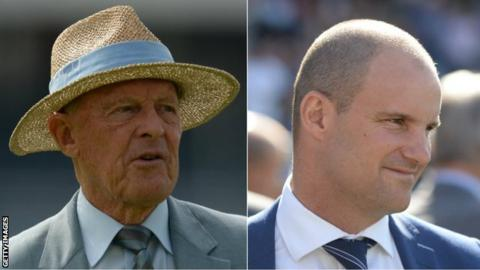 Geoffrey Boycott and Andrew Strauss are two of just 14 cricketers to have played 100 or more Tests for England