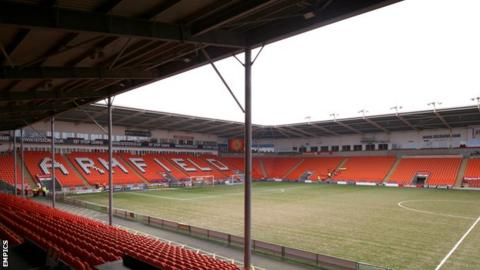 Blackpool are 16th in League One and six points off the relegation places