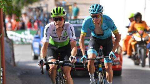 36db0c40a Vuelta a Espana  Ben King wins stage four as Simon Yates gains time ...