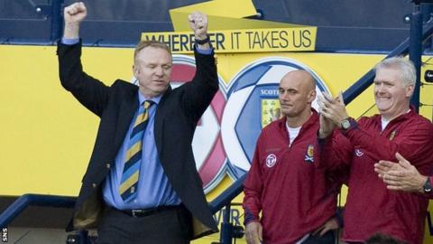 Alex McLeish appointed Scotland boss on contract until 2020