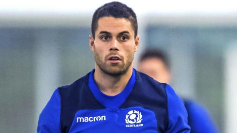Scotland wing Sean Maitland