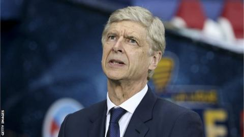 Arsene Wenger head and shoulders image