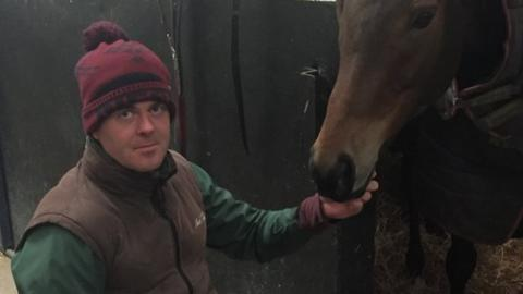 Robbie McNamara with Rathcannon