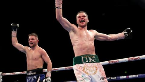 Conrad Cummings twice lost the WBO European Middleweight title to Luke Keeler