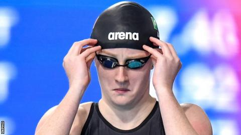 Danielle Hill is hoping to clinch a spot in Ireland's Olympic swimming team