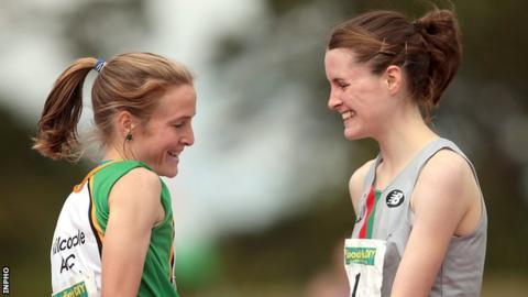 Fionnuala McCormack and Ciara Mageean