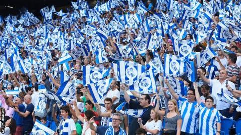 Real Sociedad fans