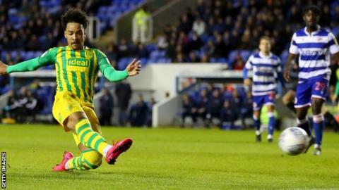 Matheus Pereira scores for West Bromwich Albion