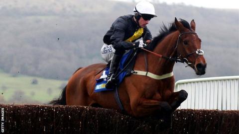 Jockey Brian Hughes riding Seeyouatmidnight