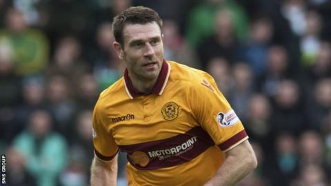 Motherwell defender Stephen McManus
