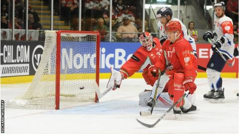 Cardiff Devils v Bili Tygri Liberec