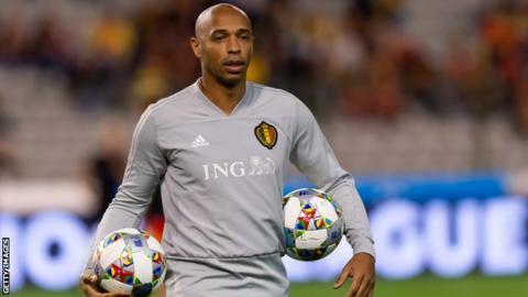 Thierry Henry named new Monaco coach