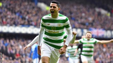 Tom Rogic has scored in each of his four appearances against Rangers this season