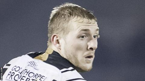 Jordan Abdull made 10 appearances for Hull FC last season