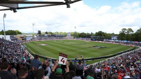 Sophia Gardens hosted England's 2019 World Cup game against Bangladesh