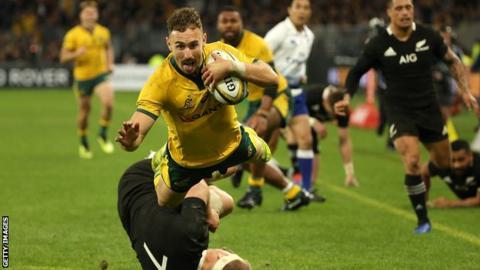 Nic White scores for Australia