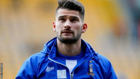 Kai Bruenker Bradford City Release German Striker Bbc Sport
