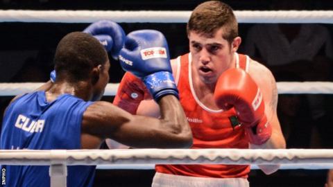 Joe Ward lost in the light-heavyweight final