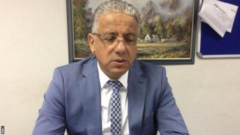 Belgian coach Adel Amrouche