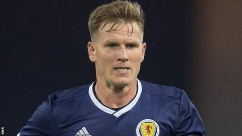 Matt Ritchie in action for Scotland