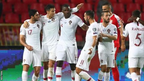 Euro 2020 qualifier: Portugal beat Serbia in six-goal thriller