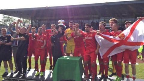 Jersey win the 2019 Muratti Vase