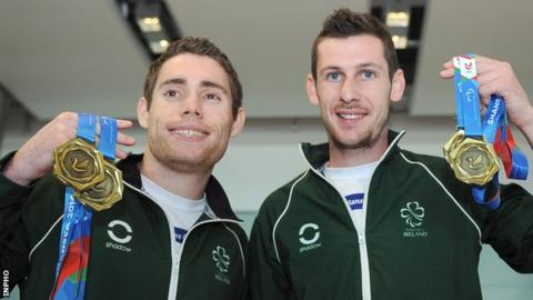 Jason Smyth is unbeaten during his long Paralympic career while Michael McKillop's only defeat came back in 2006