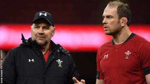Good nature news Wayne Pivac retained Alun Wyn Jones as Wales captain after taking over from Warren Gatland