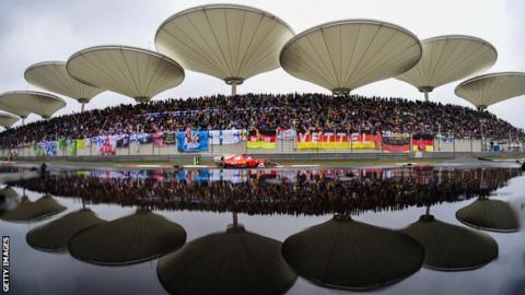 Chinese Grand Prix in Shanghai