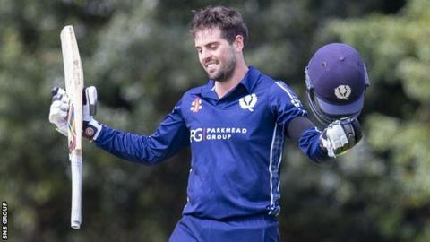 Calum MacLeod hit 100 from 89 balls against Afghanistan on 10 May