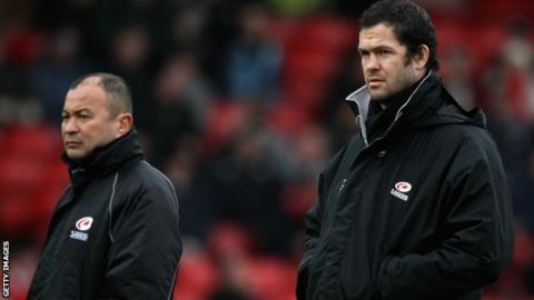 Eddie Jones and Andy Farrell