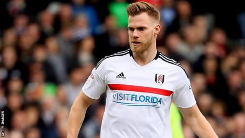 Tomas Kalas in action for Fulham