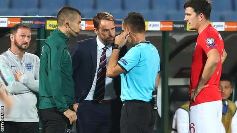Bulgaria v England: Euro 2020 qualifier halted twice due to racist behaviour from fans
