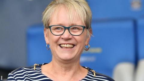 Kilmarnock director Cathy Jamieson